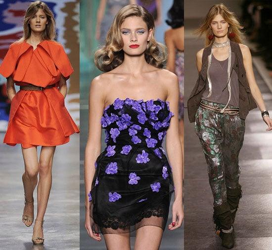 French Model Constance Jablonski Walked 72 Shows During Spring '10