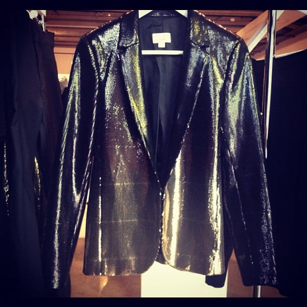 A sequinned tuxedo jacket. So cool it hurts. Witchery A/W collection, you have seriously impressed us.