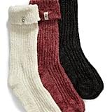UGG Three-Pack Cozy Sparkle Socks