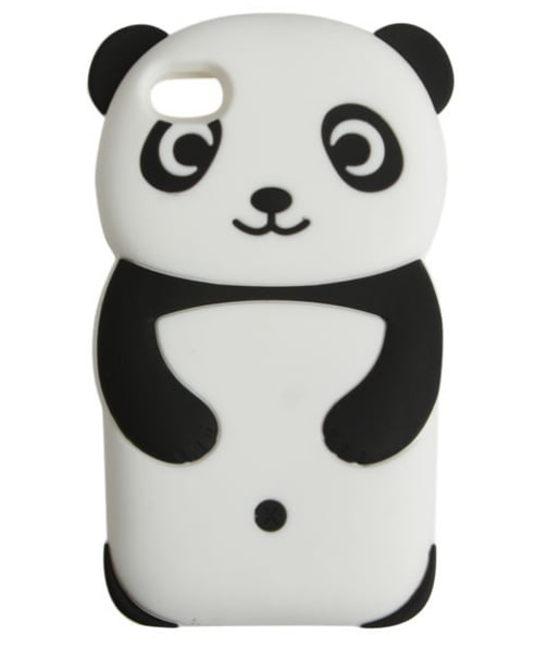 Is there a cuter case than this Wet Seal Rubber Panda iPhone Case ($9)? We think not.