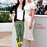 Kristen Stewart and Kirsten Dunst hugged at the Cannes Film Festival in 2012 during a photocall for On the Road.