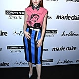 Madelaine Petsch at the 2018 Marie Claire Fresh Faces Event