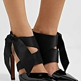 Altuzarra Satin and Patent-Leather Pumps