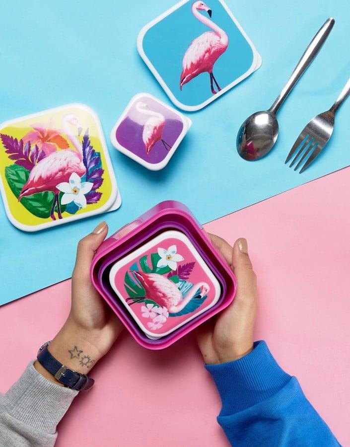 Flamingo Snack Boxes