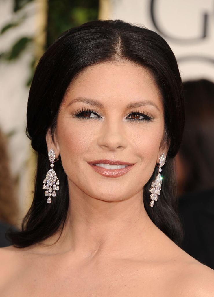 Catherine Zeta-Jones makes our jaws drop with these earrings from Van Cleef & Arpels.