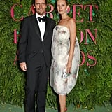 James Ferragamo and Karolina Kurkova