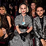 Pictured: Heidi Klum, Katy Perry, and Zedd