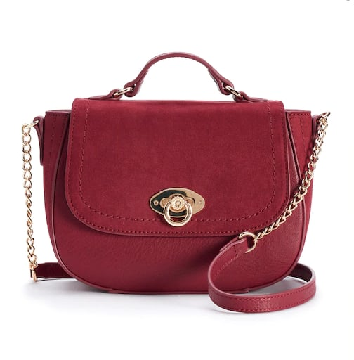 Perle Solid Crossbody Bag