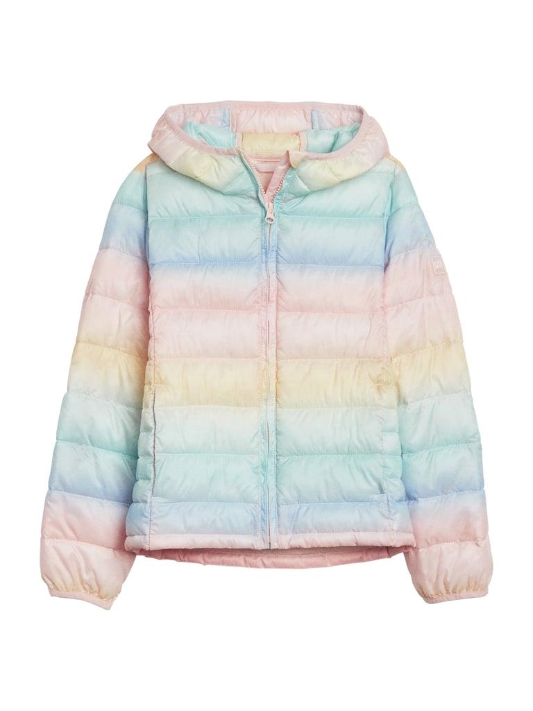 Kids Lite Print Puffer Jacket