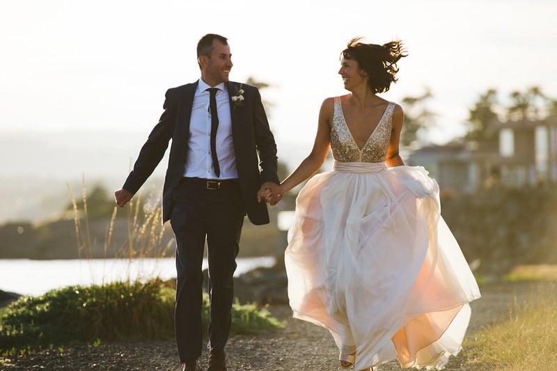 Rustic Coastal Wedding