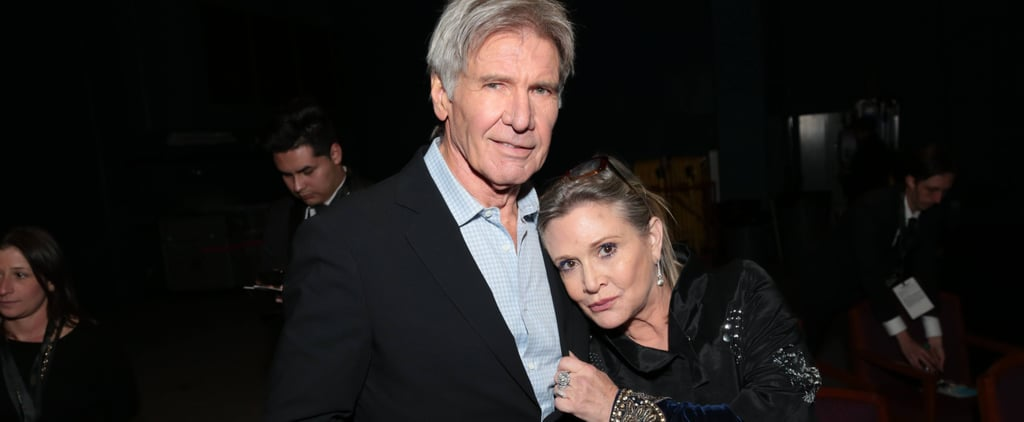 "Harrison Ford Offers Words of Support to His ""Dear Friend"" Carrie Fisher"