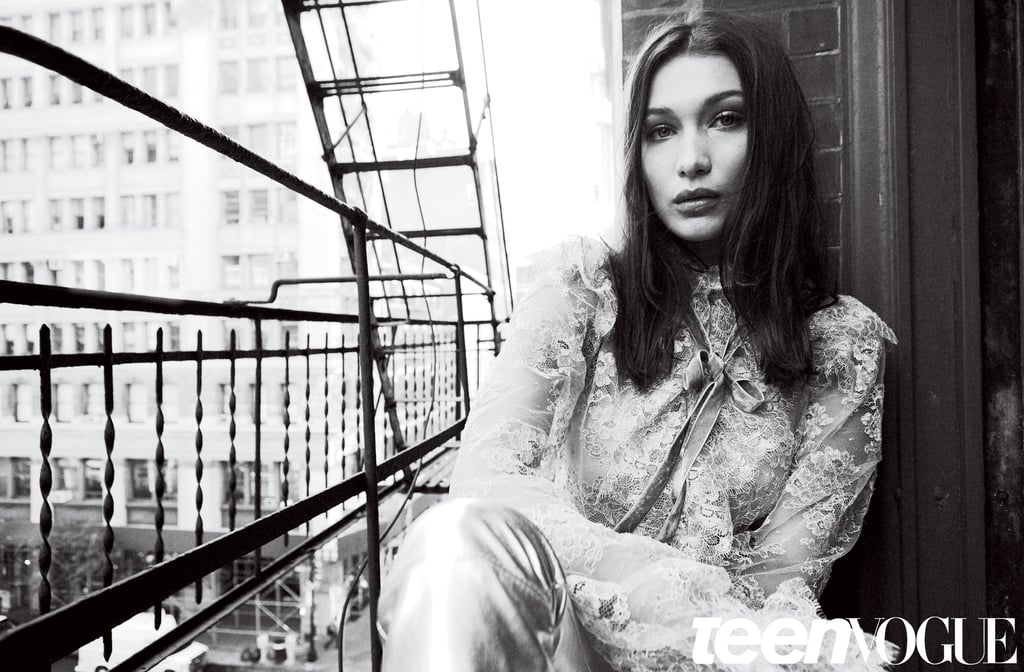 Bella Hadid's First Teen Vogue Cover Will Make Her Your Number 1 Girl-Crush