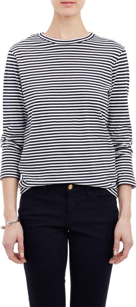 Barneys New York Stripe Long-Sleeve T-Shirt ($145)