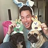 He Has 2 Dogs