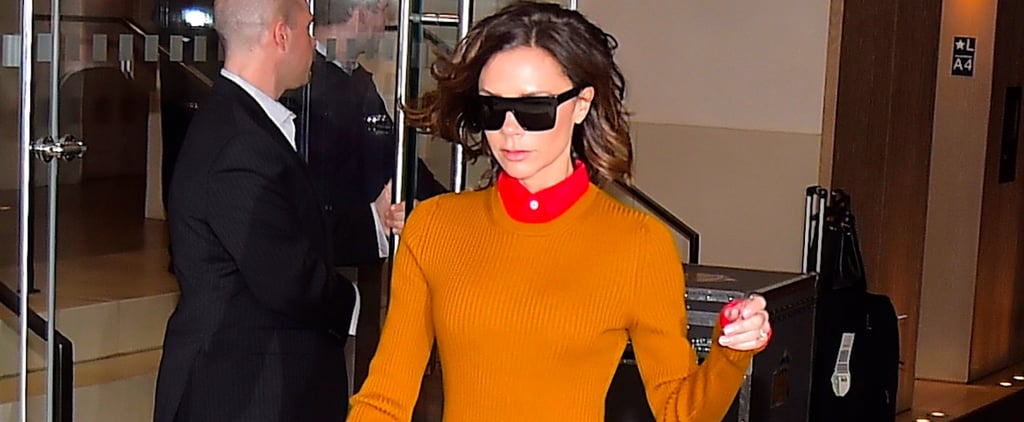 Victoria Beckham's Been Trying to Get You to Check Out Her Shoes