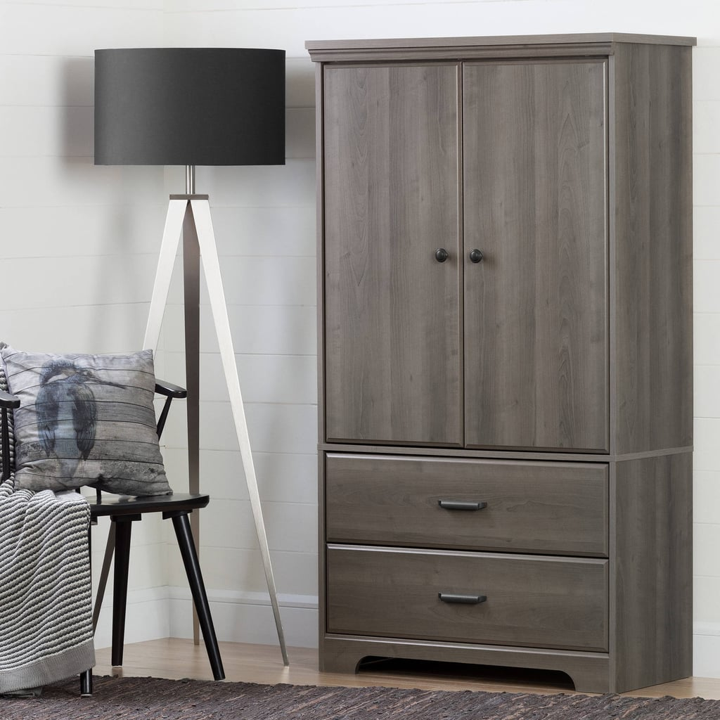 South Shore Versa Two-Door Armoire With Drawers