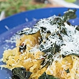 Spaghetti Squash With Kale and Parmesan