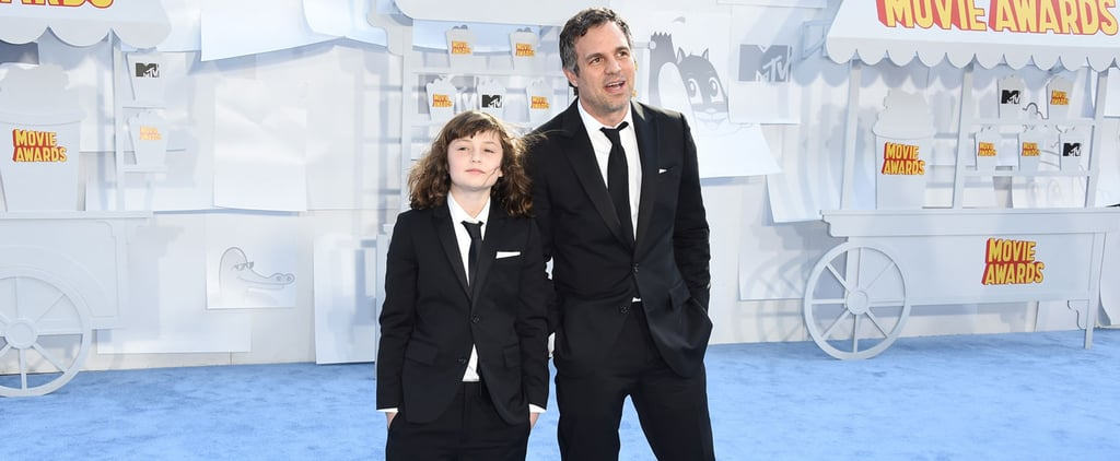 Mark Ruffalo and His Daughter Rock Matching Outfits at the MTV Movie Awards