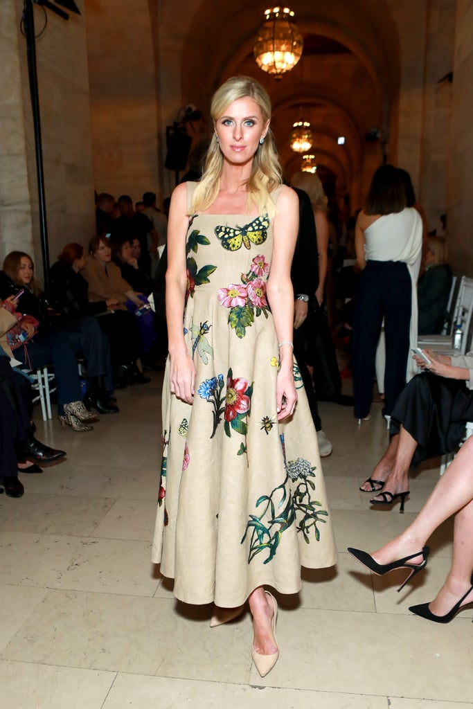 Nicky Hilton Rothschild at the Oscar de la Renta Fall 2020 Show
