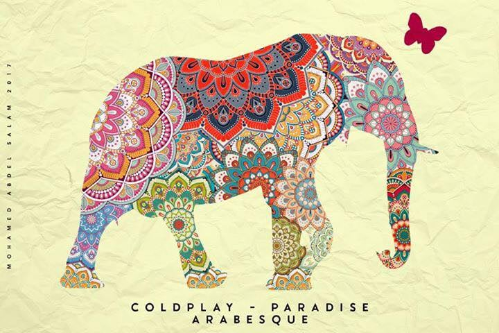 Coldplay in Egypt