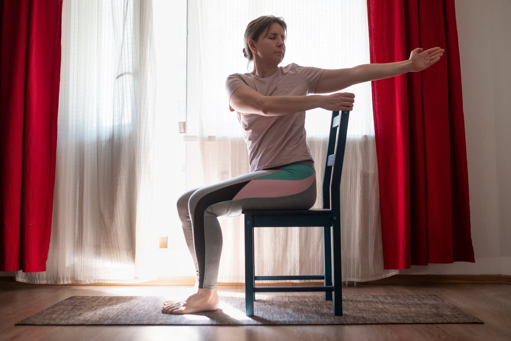 30-Minute Seated Boxing-Inspired Workout For All Levels