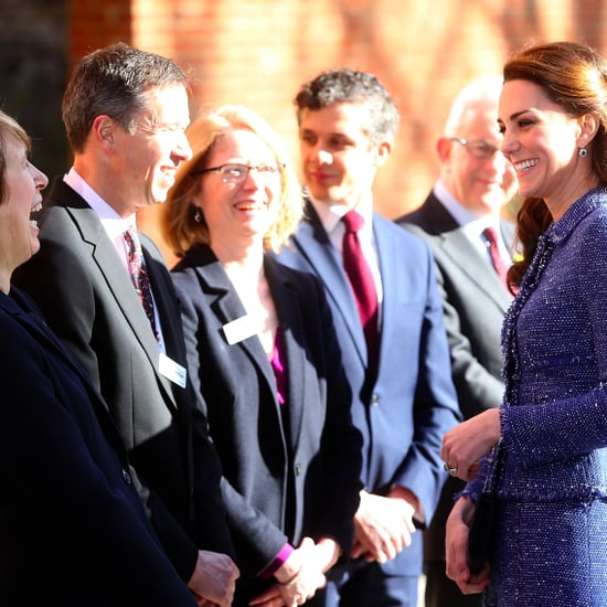 Kate Middleton at Ronald McDonald House in London Feb. 2017