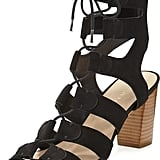Loeffler Randall Thea Suede Lace-Up Sandal ($350)