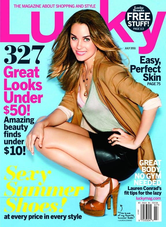 Lauren Conrad Gets Girly in Paper Crown to Talk MTV and Hating the Gym For Lucky