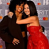 Neneh Cherry and Mabel at the 2020 BRIT Awards in London