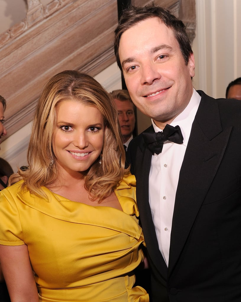 Jessica Simpson and Jimmy Fallon