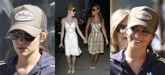 Cheryl, Kimberley and Nicola In LA