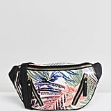 New Look Palm Print Fanny Pack