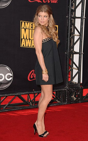Fergie at the American Music Awards