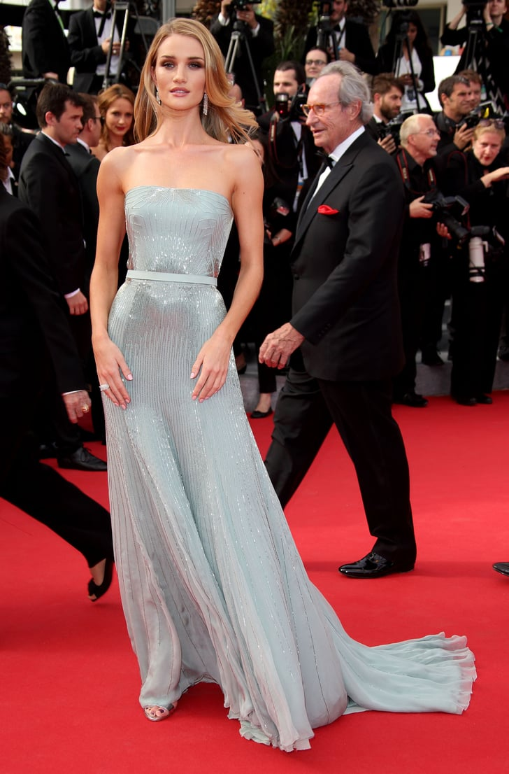 Rosie Huntington Whiteley At The Search Premiere Cannes Red Carpet Dresses 2014 Pictures