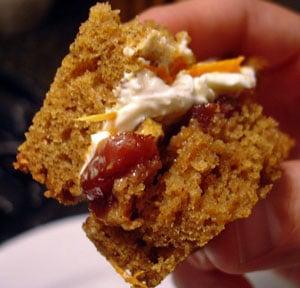 Pecan Pumpkin Cakewich