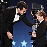 Jacob Tremblay Had the Cutest Night at the Critics' Choice Awards, Hands Down
