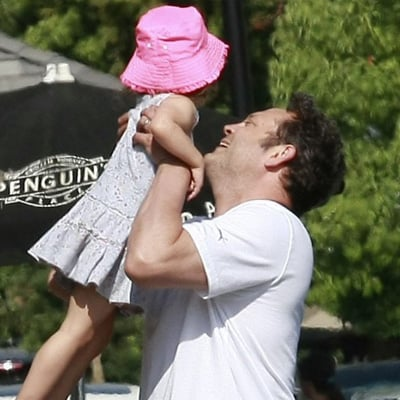 Vince Vaughn and Pregnant Wife Have Family Breakfast in LA