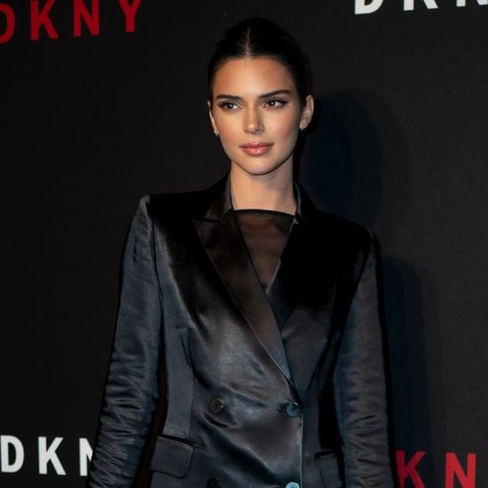 Kendall Jenner's Sheer Pink Nail Polish
