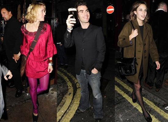 Photos From 2008 Q Awards Afterparty Including Alexa Chung, Alex Turner, Tom Jones Hand In Hand With Cerys Matthews, Kelly Jones