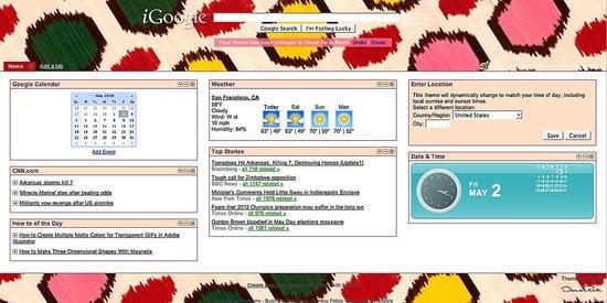 Simply Fab: Google Designer Homepage