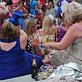 A group of women attended Ladies Day.