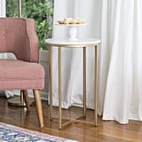 We Furniture Modern Round Side End Table