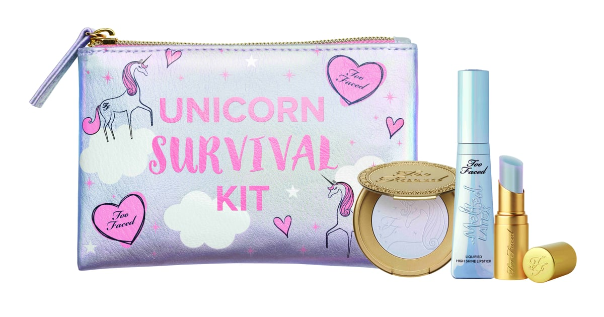 Too Faced Drops the Unicorn Survival Kit You've All Been Waiting For