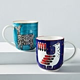 Hand-Painted Animal Mugs