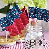 Mini Fabric Flags