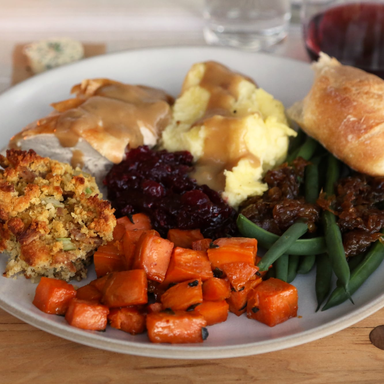 Easy Thanksgiving Feast Ideas Popsugar Food