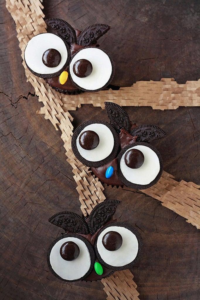 Oreo Owl Cupcakes Oreo Desserts For Halloween POPSUGAR Food Photo 12