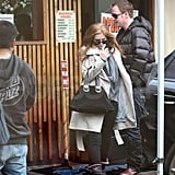 Pictures of Isla Fisher Out to Lunch in LA