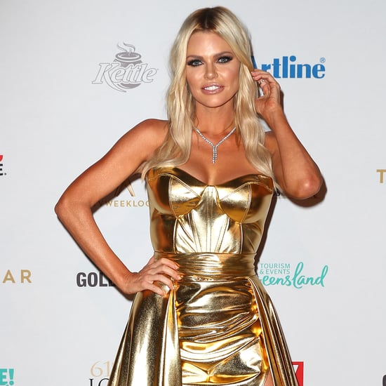 Sophie Monk Logies 2019 Gold Dress