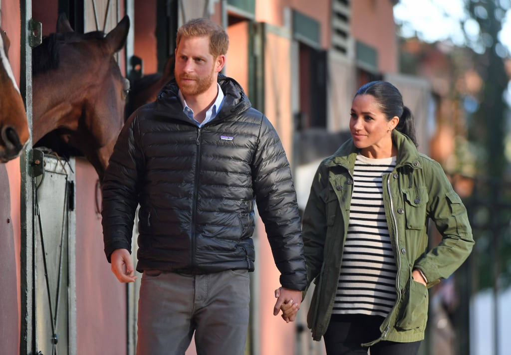Meghan Markle's Green J.Crew Jacket in Morocco